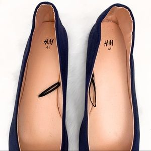 H&M Shoes - H&M •  Blue Ballet Flats